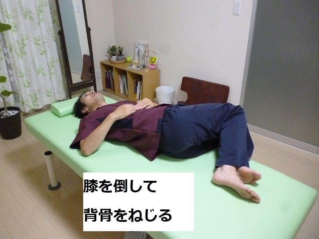 体幹の回旋
